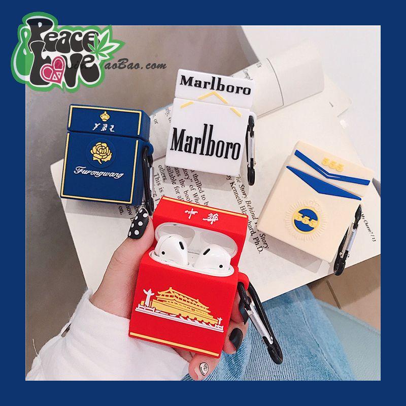 Pro創意個性煙盒airpods保護套蘋果airpods2代無線藍牙盒潮男