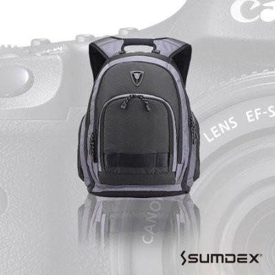 加賀皮件 SUMDEX X-sac 雨防護相機 電腦旅行背包 男士後背包 帆布包 休閒雙肩包PON-395
