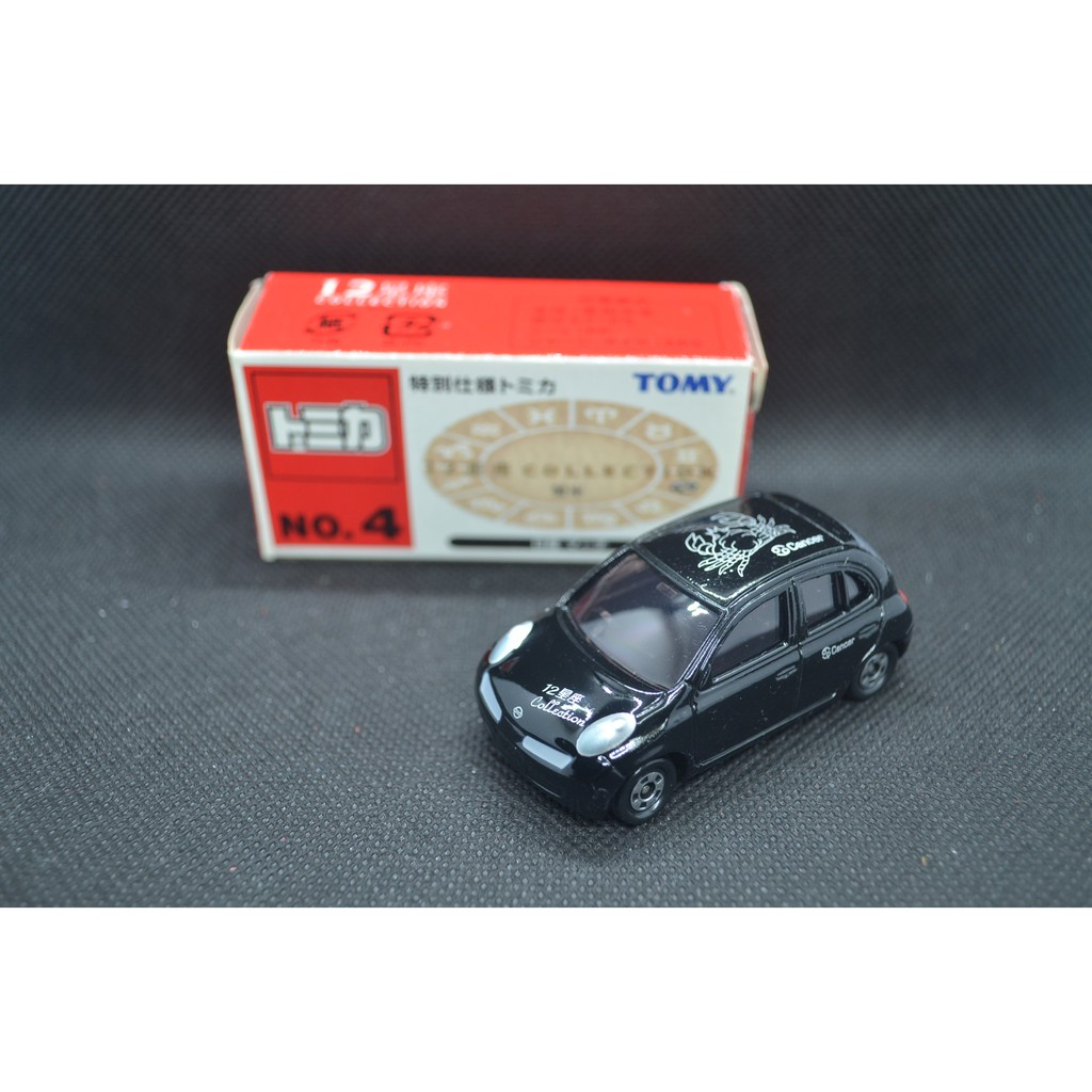 【T'Toyz】 Tomica 星座系列 No.4 巨蟹座 Nissan March 中國製