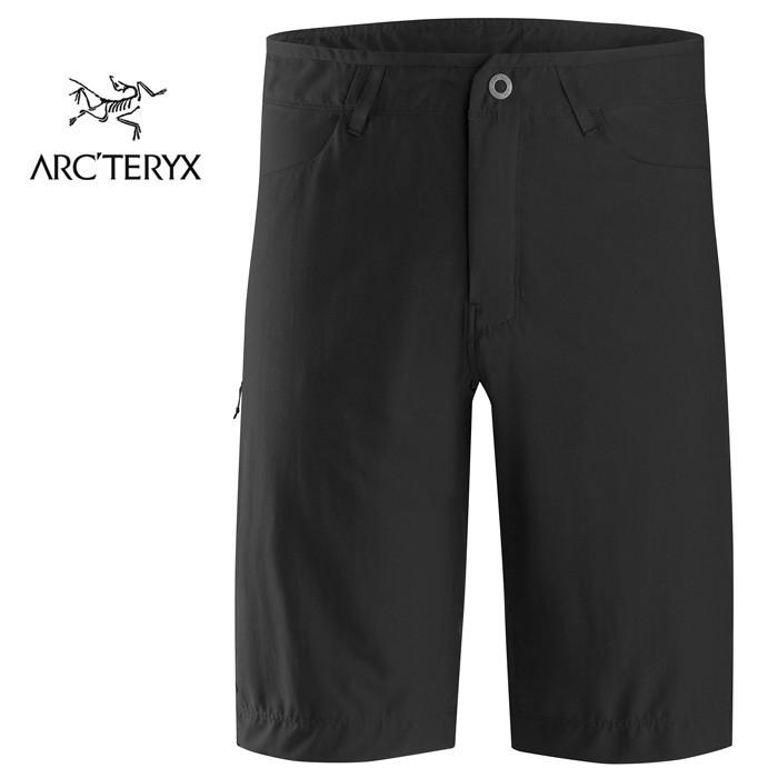 【ARCTERYX 始祖鳥 加拿大】CRESTON 彈性短褲 休閒短褲 男款 黑色 (L07148200)