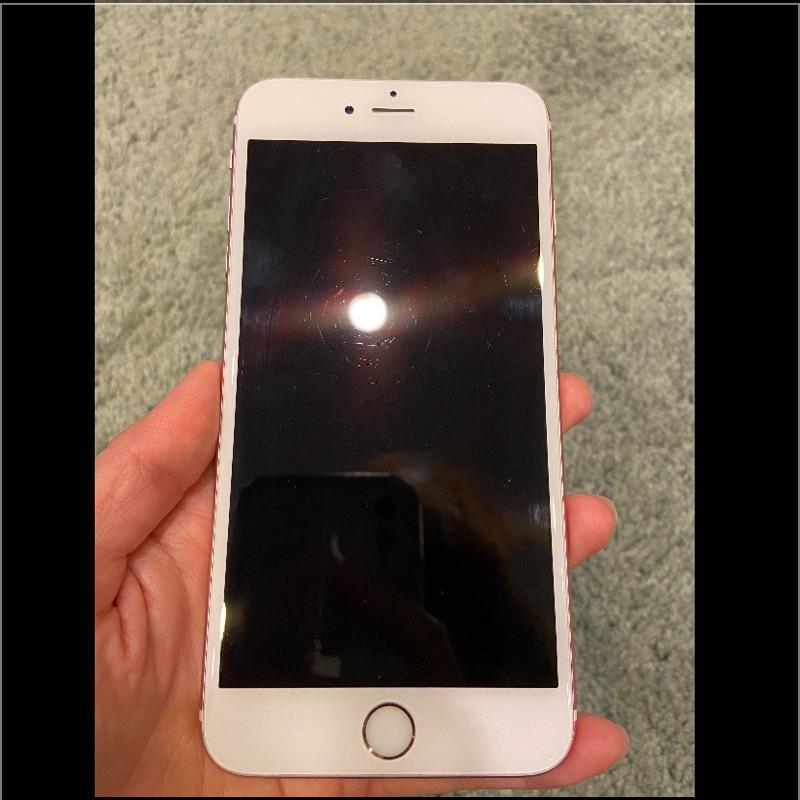 <二手>IPhone 6s plus玫瑰金-64g