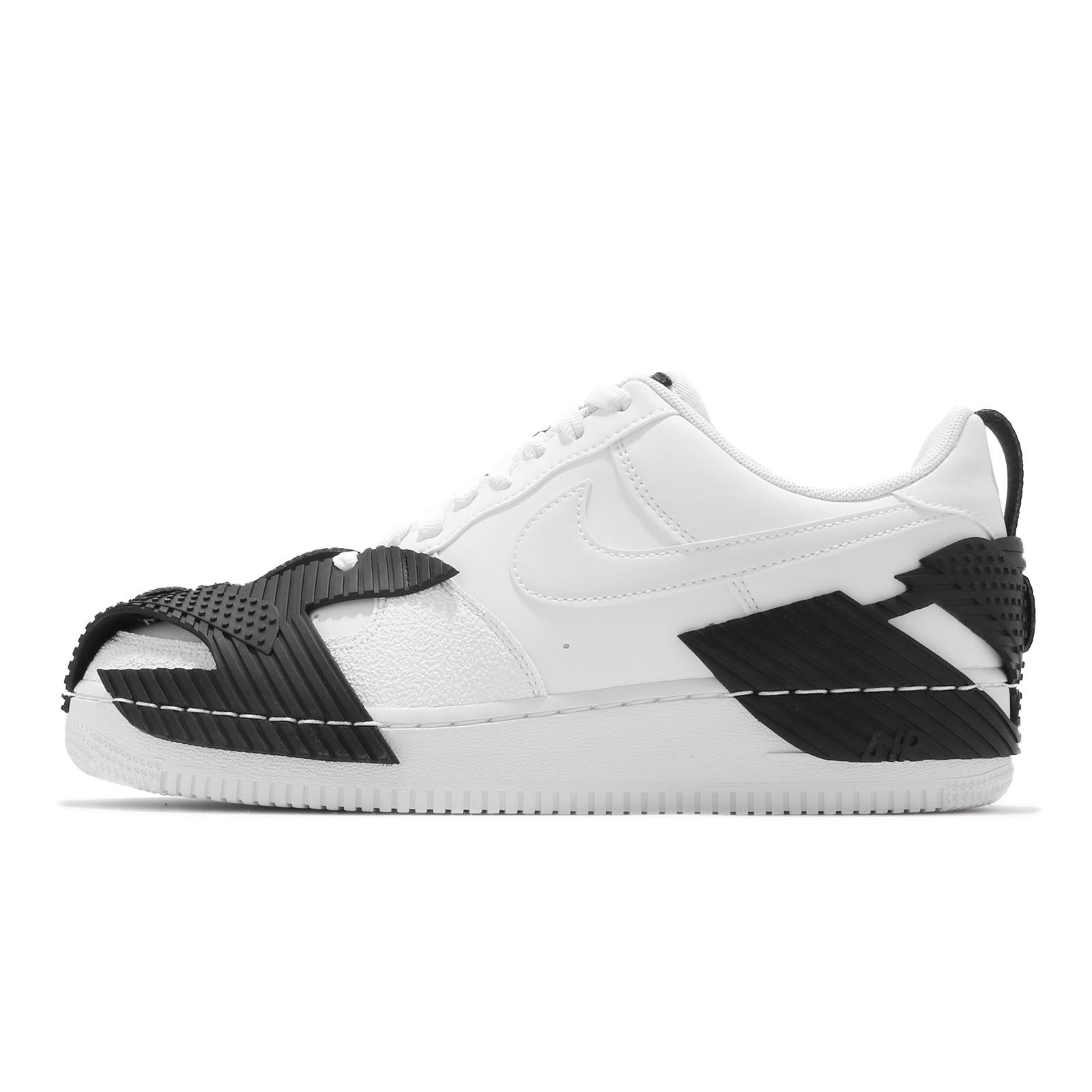 Nike Air Force 1 NDSTRKT 白 黑 休閒鞋 特殊設計 男鞋 AF1【ACS】 CZ3596-100