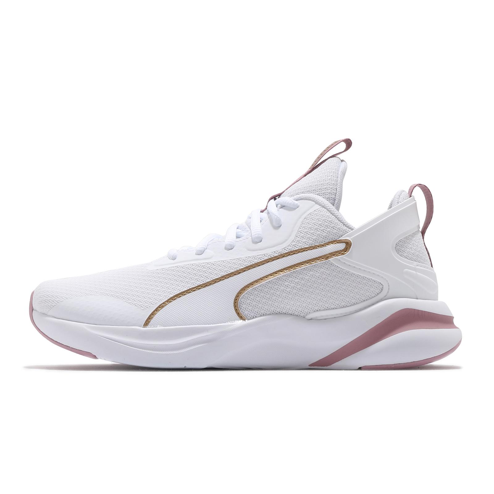Puma 慢跑鞋 Softride Rift 白 金 粉紅 女鞋 輕量避震 運動鞋 【ACS】 19373903