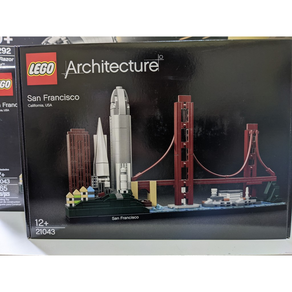 LEGO Architecture 21043 San Francisco 舊金山 現貨