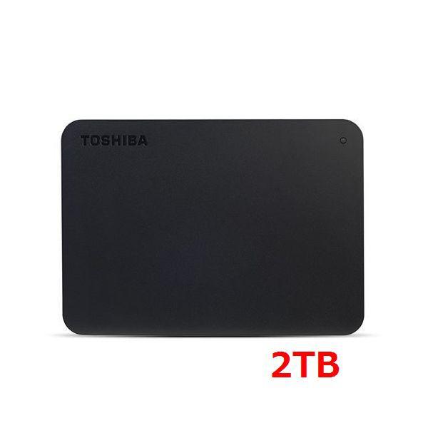 TOSHIBA Canvio Basics 2TB 2.5吋行動硬碟 黑靚潮III