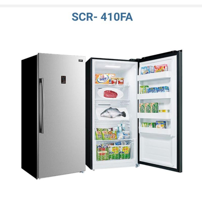 台南 台灣三洋 冷凍櫃 SCR-410FA 410L SANLUX 直立式 冷凍櫃 自動除霜 鎧哥冷氣