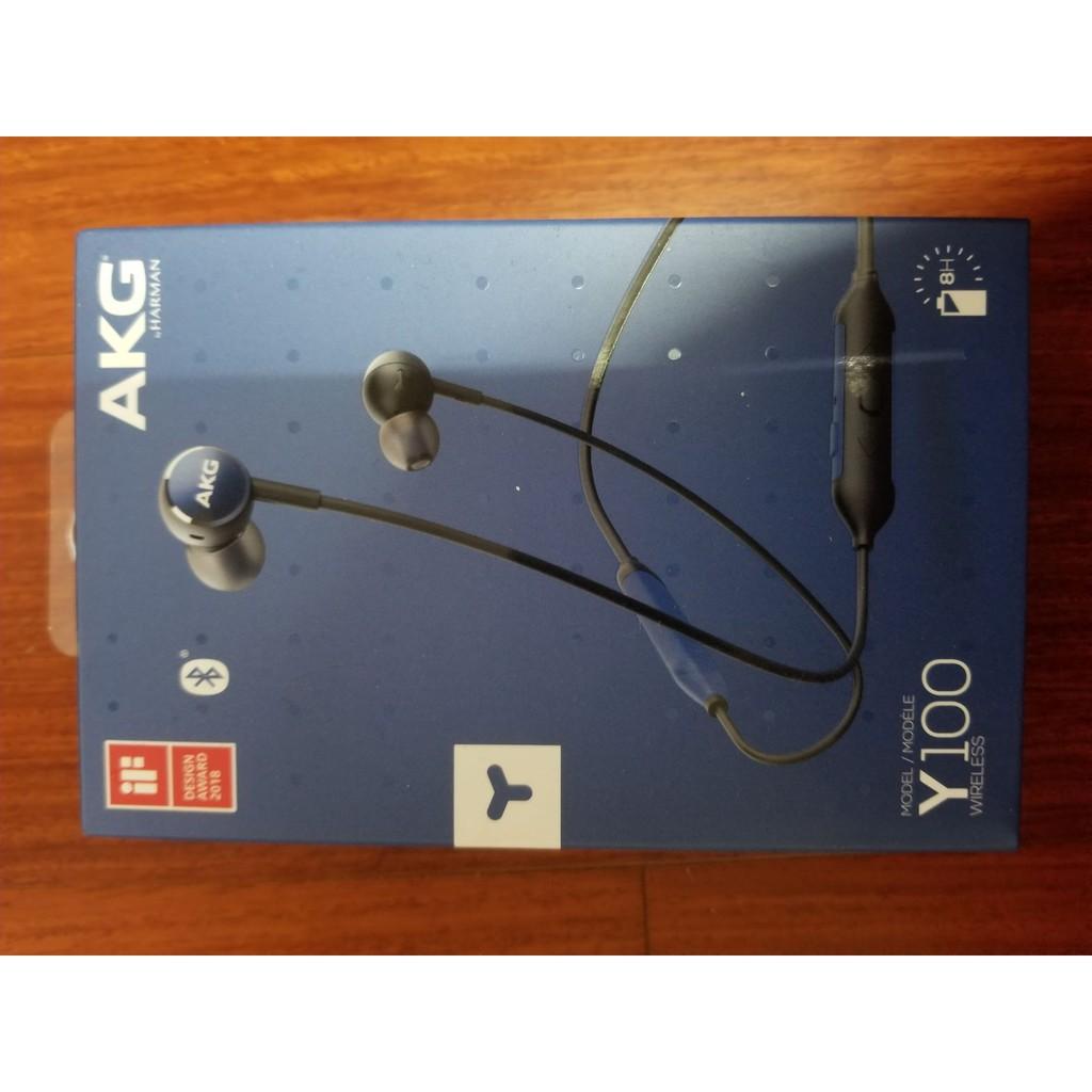 AKG 藍芽耳機 Y100