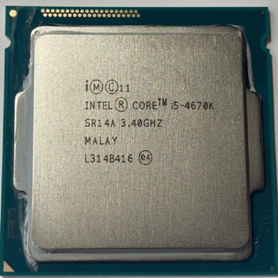 CPU i5四代i5-4440 i5-4570 i5-4590 I5-4670  i5-4690 1150腳位 二手良品