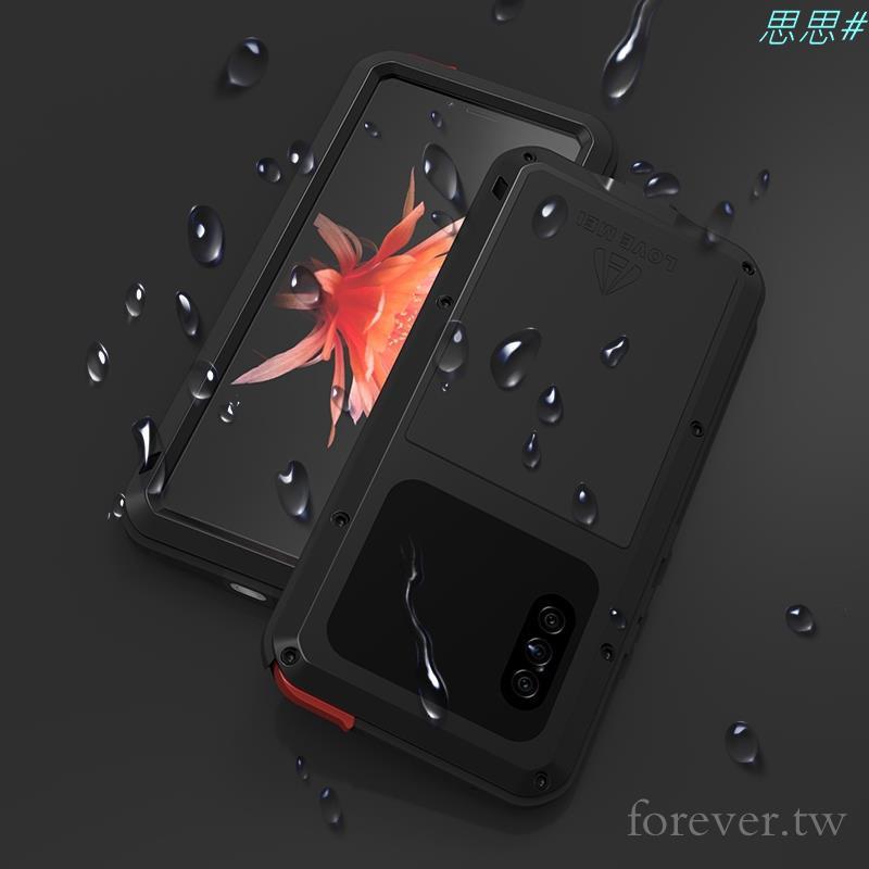 Lovemei三防殼適用於Sony Xperia 10 II防水殼 Xperia1 II Xperia10金屬全包防摔殼