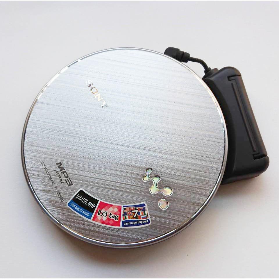 【二手】索尼CD機隨身SONY D-NE830 CD隨身聽CD播放器