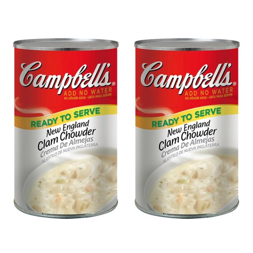 『好市多店小二』 Campbell's 金寶 新英倫 蛤蜊 濃湯 蛤蜊濃湯 新英倫蛤蜊濃湯 雞肉玉米濃湯 田園蔬菜湯