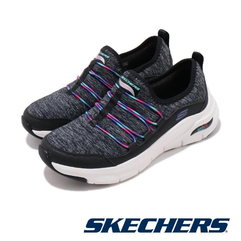【SKECHERS】 女   休閒系列 ARCH FIT - 149061KMT - 黑色