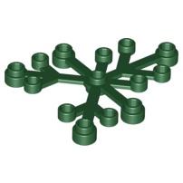 LEGO 樂高 2417 深綠色 植物 樹葉 草 葉子 6x5 21318 樹屋 4505066 6266967