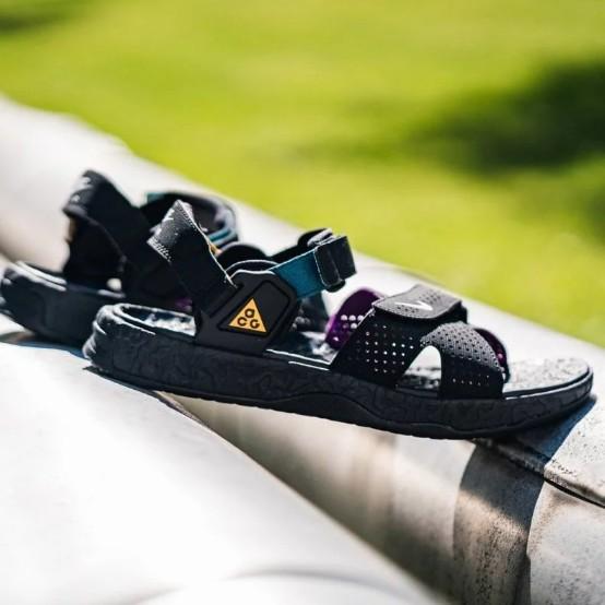 NIKE ACG Deschutz QS 黑紫 戶外機能 休閒涼鞋 CT2890-003