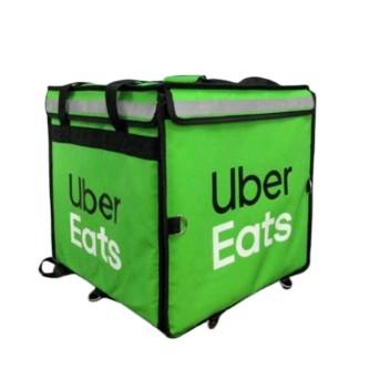 Uber Eats ubereats 上掀式 保溫袋 (綠) 大包 全新 大箱 螢光綠