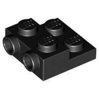 玩樂趣 LEGO樂高 99206 黑色 2x2x2/3 with 2 Studs on Side