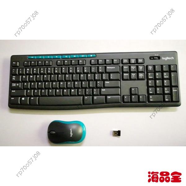 【熱銷出貨】羅技MK275無線鍵盤滑鼠套裝K275無線鍵盤+M185無線滑鼠+接收器