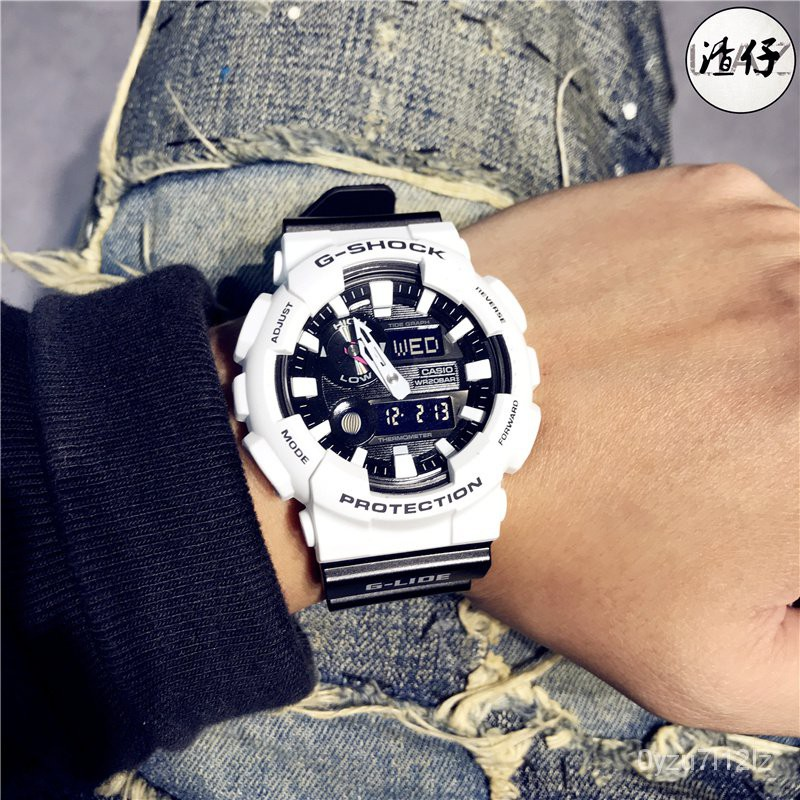 CASIO卡西歐G-SHOCK潮汐月相溫度防水運動男女手錶GAX-100B-7A/1A DG21