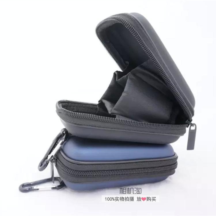 miaoning02松下LX10 TS30相機包 ts30攝影包 lx10硬殼包 便攜腰包 防震防水