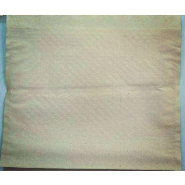 (萊爾富取貨) 牛皮透氣紙袋(適用雞蛋糕 紅豆餅 熱壓吐司等熱食) 針孔袋 洞洞袋