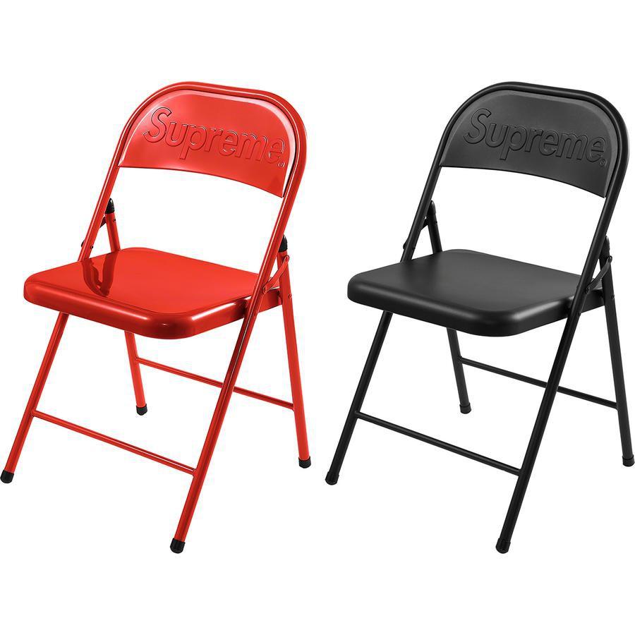 【美國鞋校】預購Supreme FW20 Metal Folding Chair 椅子