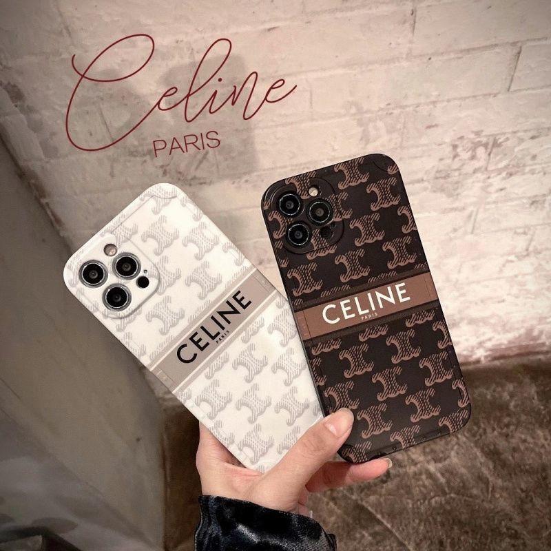 潮牌 Celine Old Pattern Iphone12 / 11promax 蘋果 X / Xs 手機殼 7 /