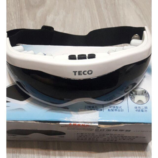TECO 東元眼部紓壓按摩器 按摩眼罩 針壓式按摩 磁石振動 幫助睡眠