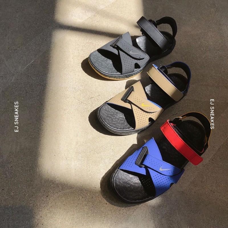 Ag NIKE ACG DESCHUTZ SANDAL 涼鞋 拖鞋 機能 戶外 黑 卡其 藍 紅 黃