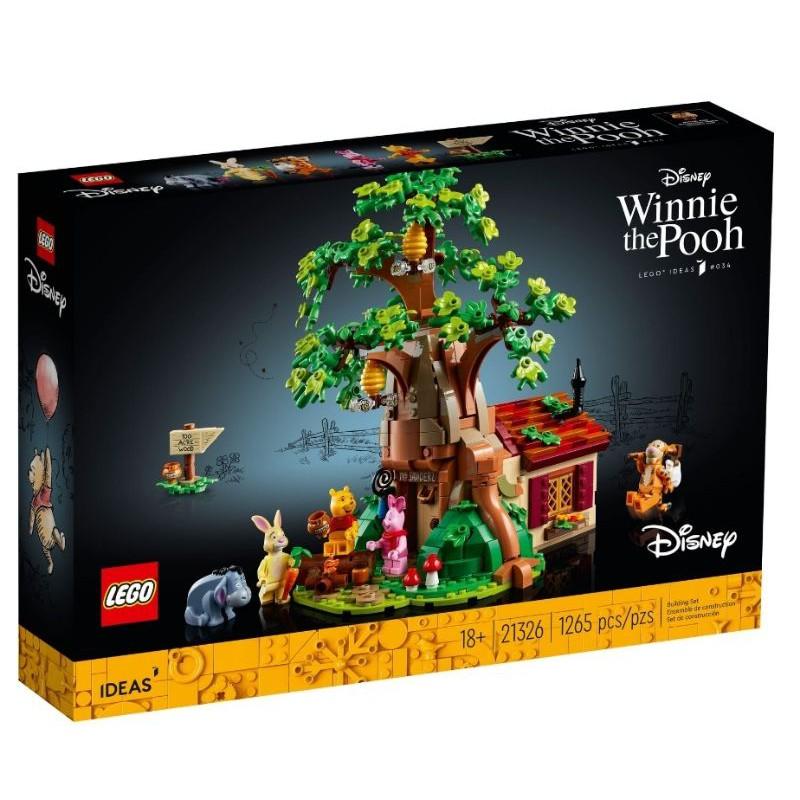 【ToyDreams】LEGO樂高 IDEAS 21326 小熊維尼 Winnie the Pooh