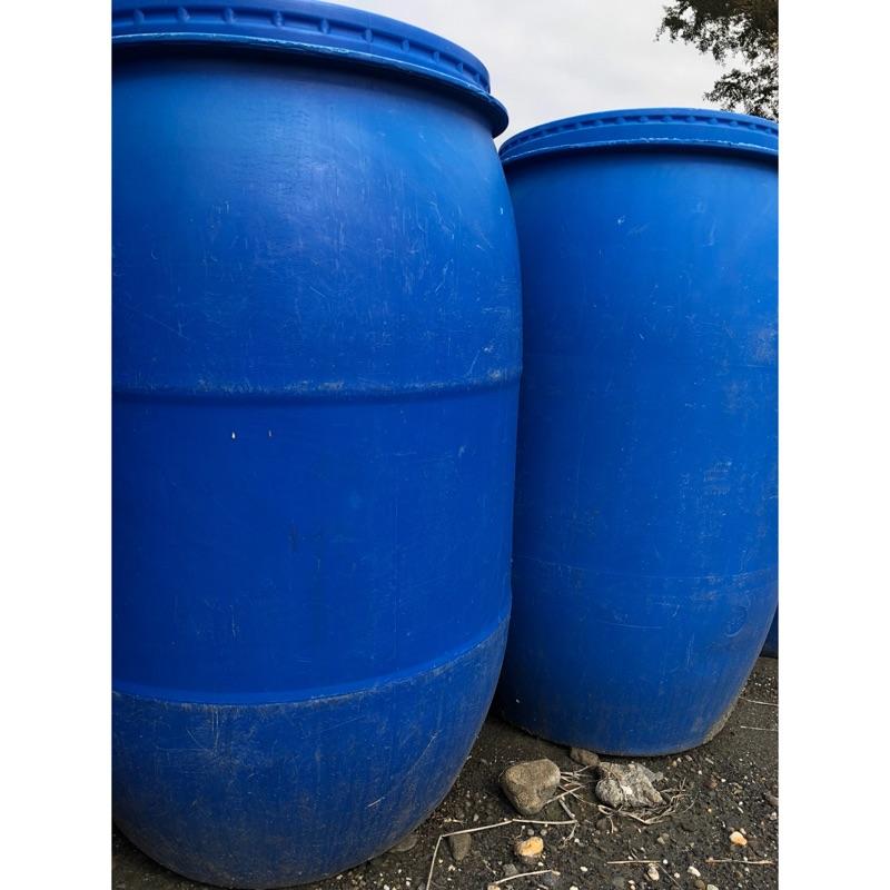 藍色塑膠桶 耐酸桶 堆肥桶 運輸桶 飼料桶 廚餘桶 儲水桶