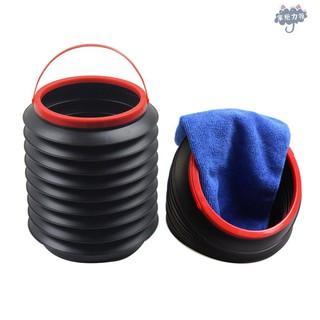 汽車伸縮桶可折疊桶多功能收納盒黑色 車載折疊垃圾桶 百變伸縮車用置物箱車內後備箱收納箱 汽車收納 多功能摺疊魔法桶