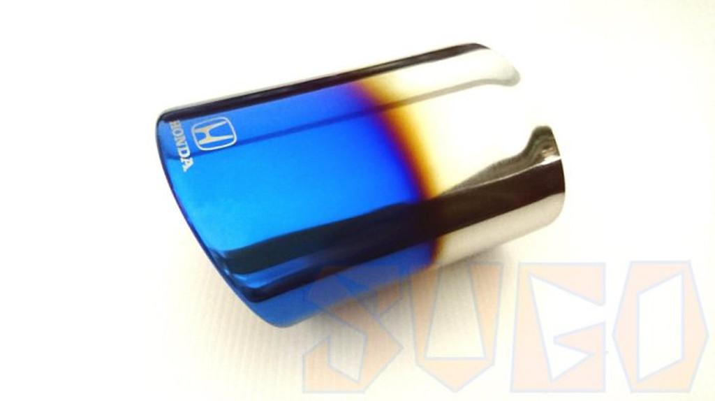 SUGO汽車精品 本田 HONDA CRV 2/2.5代 專用鈦藍尾飾管