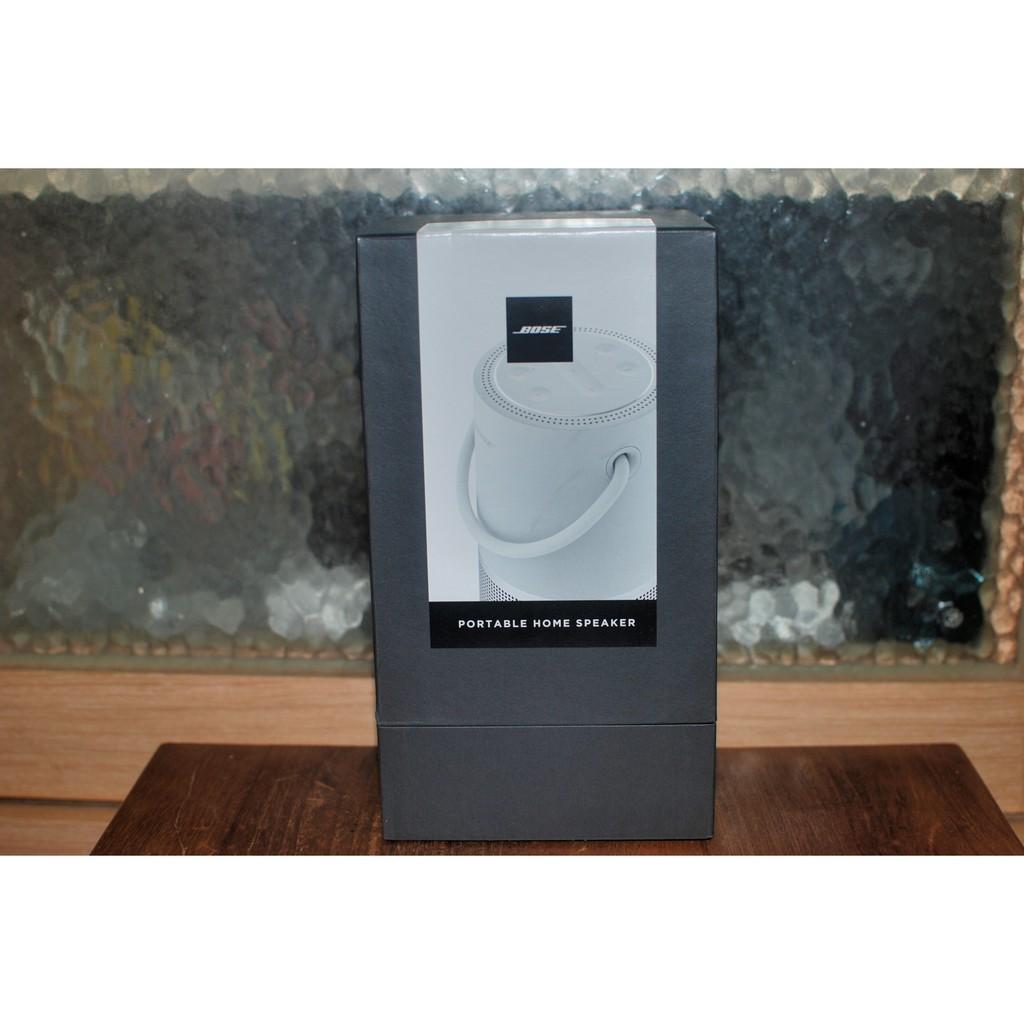 Bose Portable Home Speaker支援AirPlay2,Google助理,Alexa + 原廠充電底座