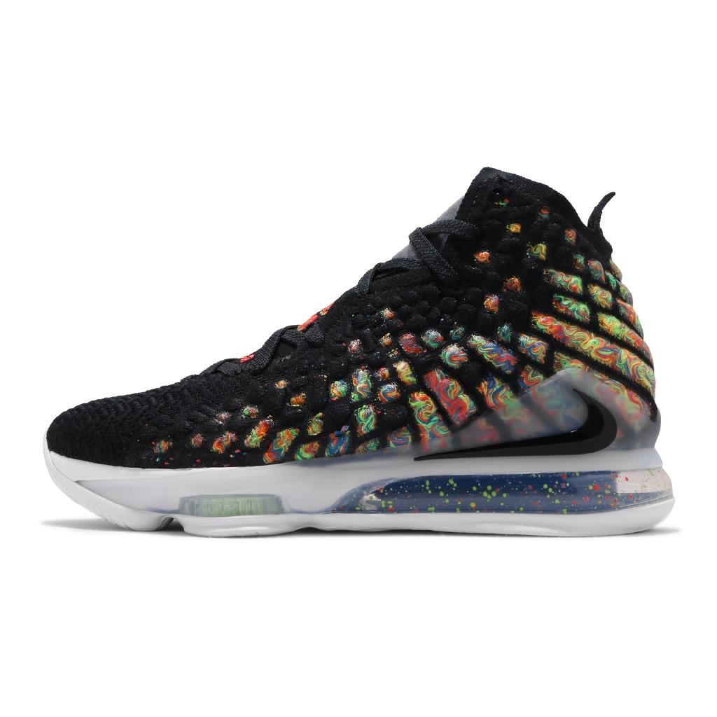 【ACS】 Nike 籃球鞋 LeBron XVII EP 17 黑 彩色運動鞋 LBJ1 17代 BQ3178-005