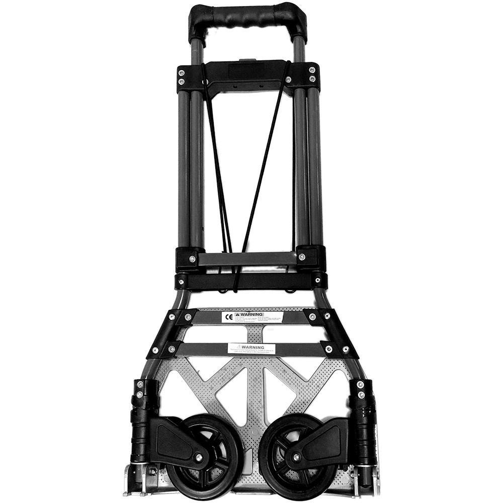 摺疊式鐵製伸縮手推車/拉桿手推車/省力好幫手 加高手把 使用不彎腰 (推車加購收納袋優惠1080)台灣製