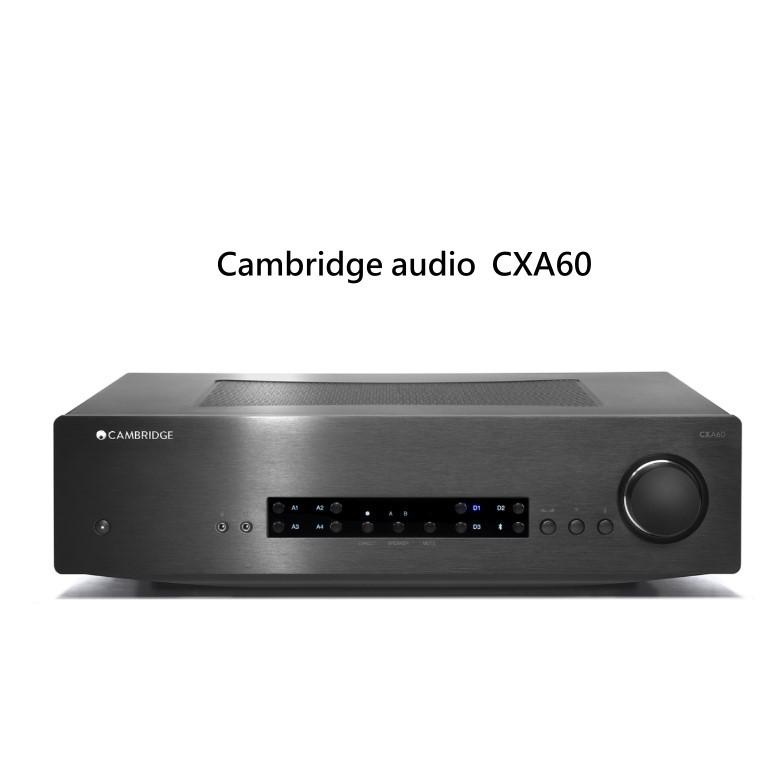Cambridge Audio CXA60內建DAC的兩聲道綜合擴大機~黑色(公司貨,保固一年)