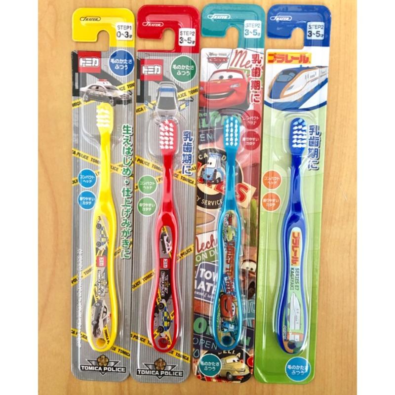 ❤貝媽咪❤【現貨】日本進口 TOMICA多美小汽車/警車 新幹線 E7 閃電麥坤 巧虎 兒童牙刷 嬰幼兒牙刷 乳牙牙刷