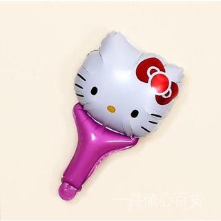 《全場5折》 Hello Kitty 哆啦A夢 卡通手持氣球棒 小叮噹 KT貓兒童可愛卡通氣球 打擊棒 打氣棒 派對生日