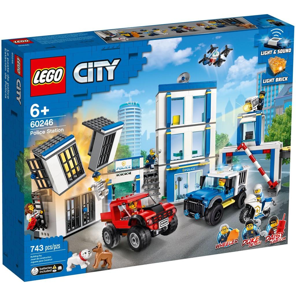 《熊樂家║高雄 樂高 專賣》LEGO 60246 警察局 Police Station City 城市系列