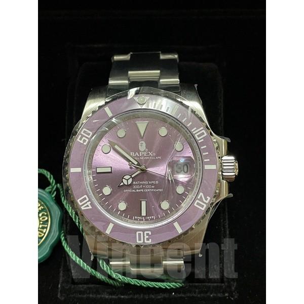 現貨 BAPE 自製 史上最高質感手錶 BAPEX TYPE 1 WATCHES/樂樂