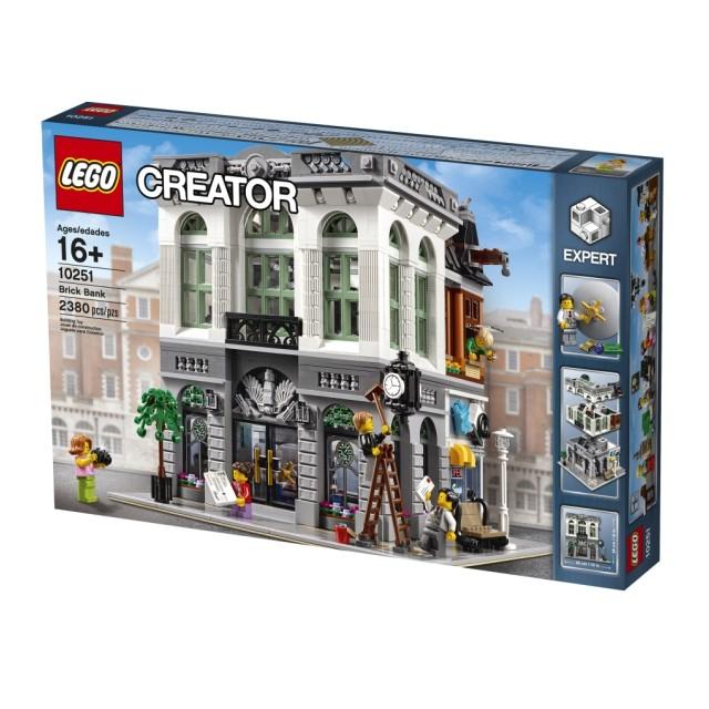 【麥斯與亞當】LEGO 10251 Brick Bank