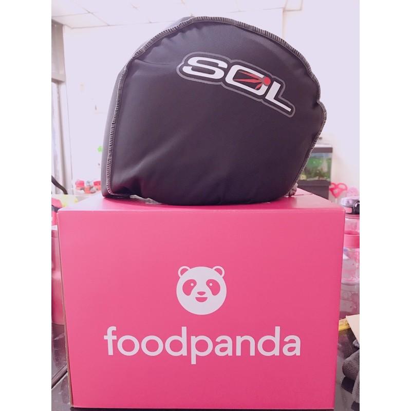 Foodpanda全新安全帽~尺寸還沒換,可以照你要的換!