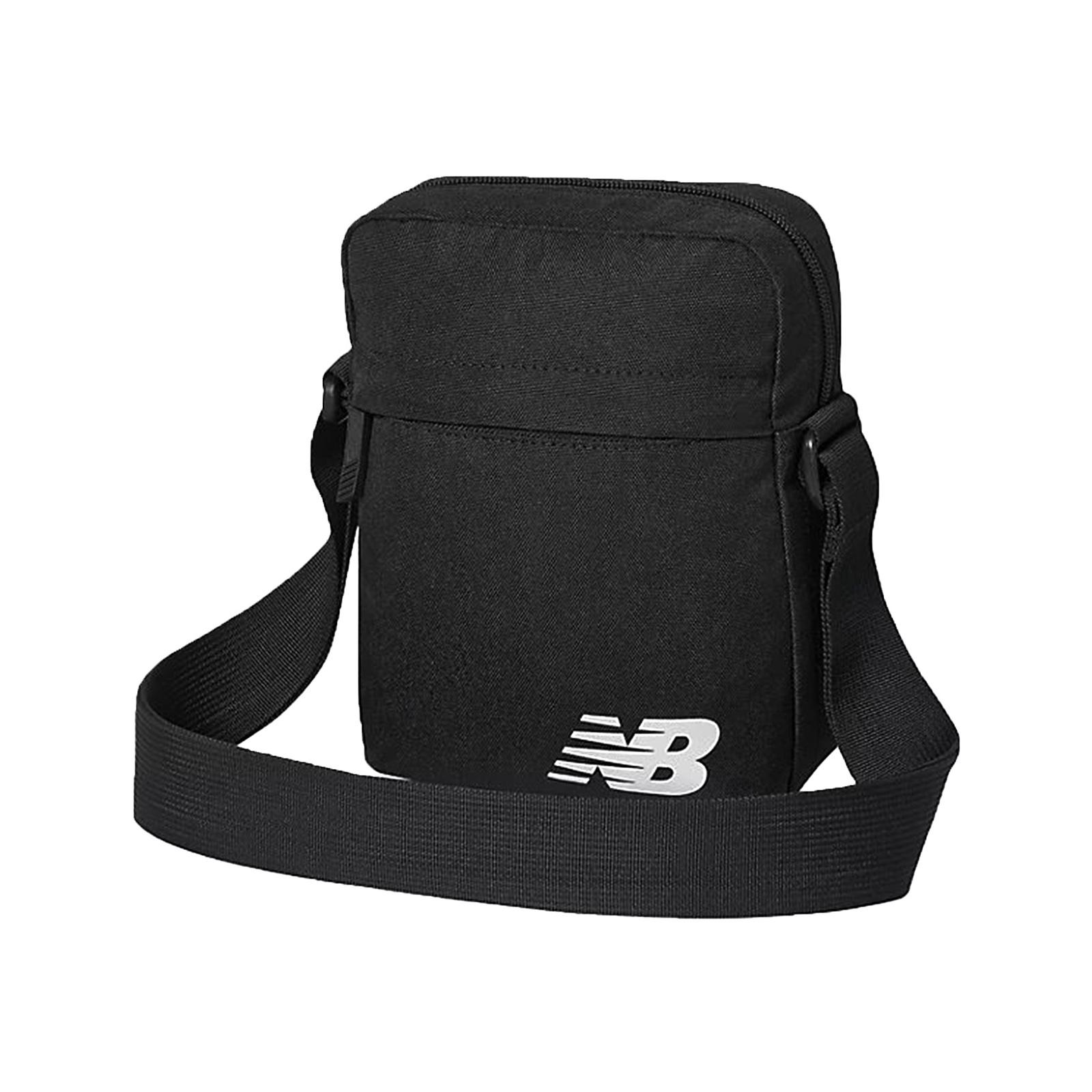 New Balance 斜背包 Mini Shoulder Bag 黑 男女款 基本款【ACS】BG03080GBKW