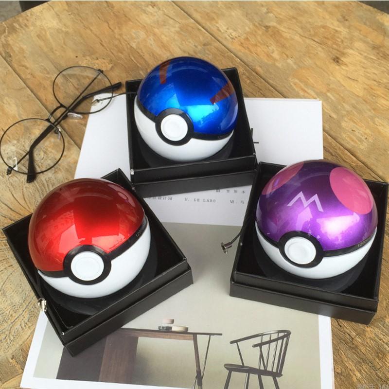 可愛攜帶便利寶可夢神奇寶貝球.Pokemon Go精靈球行動電源.充電寶.移動電源口袋寶12000mah.USB兩孔.