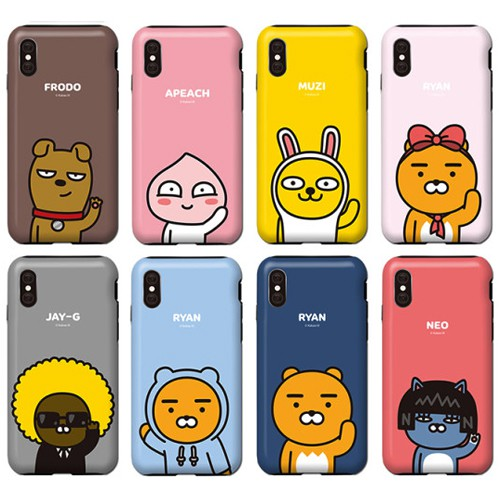 KAKAO FRIENDS 手機殼│iPhone XS 11 Pro Max Note10+│z9074