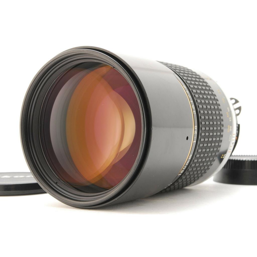 日本直送 胶卷 相机 Used Nikon NIKKOR Ai-s 180mm F2.8 ED  #0671