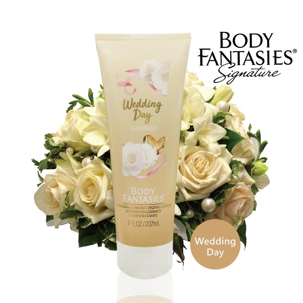 美國代購 Body fantasies  幸福花嫁 香水身體乳液 207ml