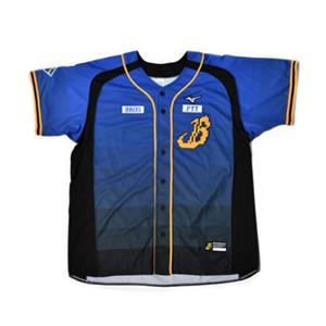最後現貨 中信兄弟 大B 英文款 球衣 猛象B 棒球開扣球衣 兄弟象 S號 M號 L號 XL號 英文棒球衣 丈青色 藏青