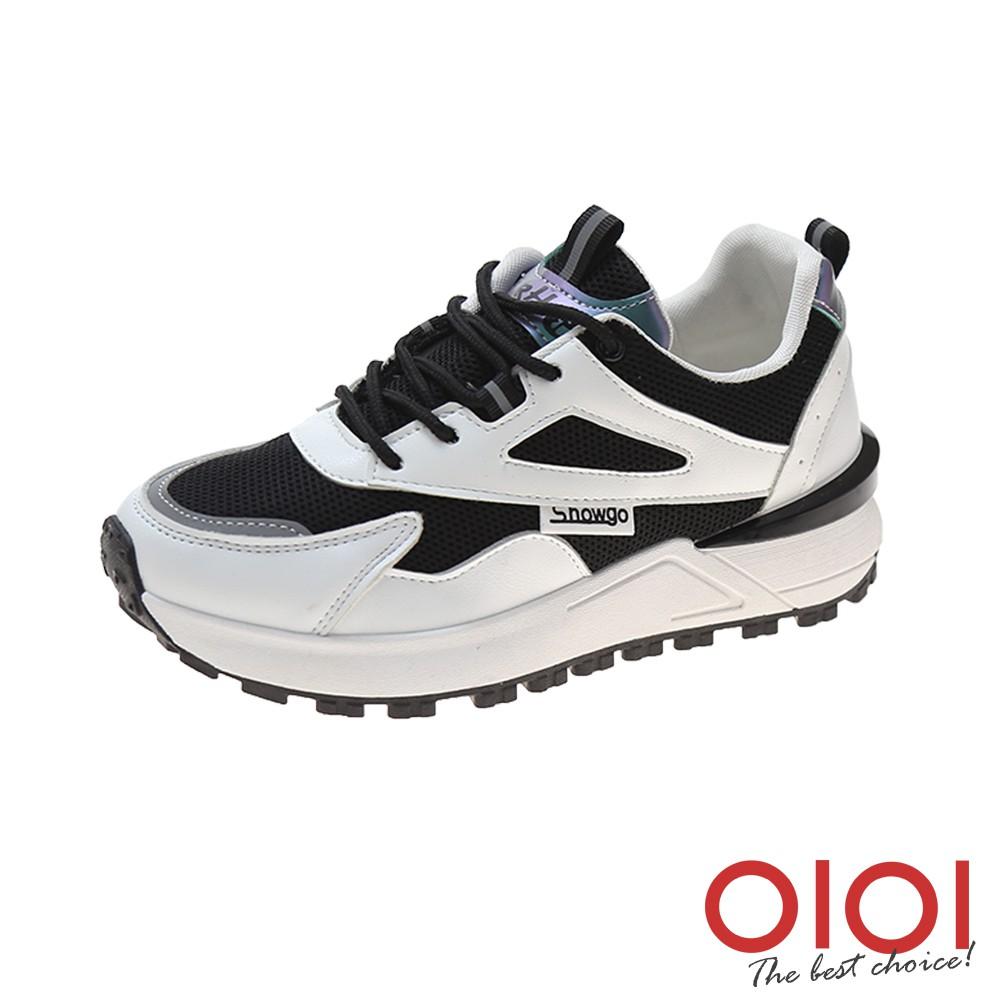 【0101shoes】休閒鞋 復古風潮厚底老爹鞋(黑) 【18-1911bk】【現+預】