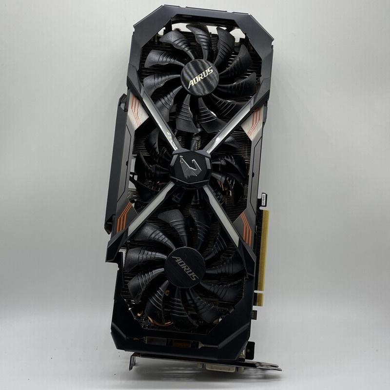 二手 技嘉 AORUS GeForce GTX 1080 Ti Xtreme Edition 11G 顯示卡